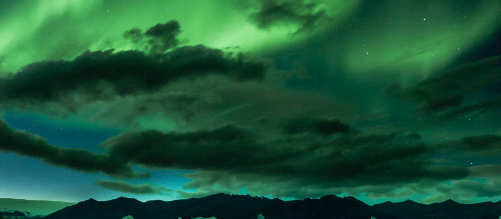 Northern light -Visit Vatnajokull