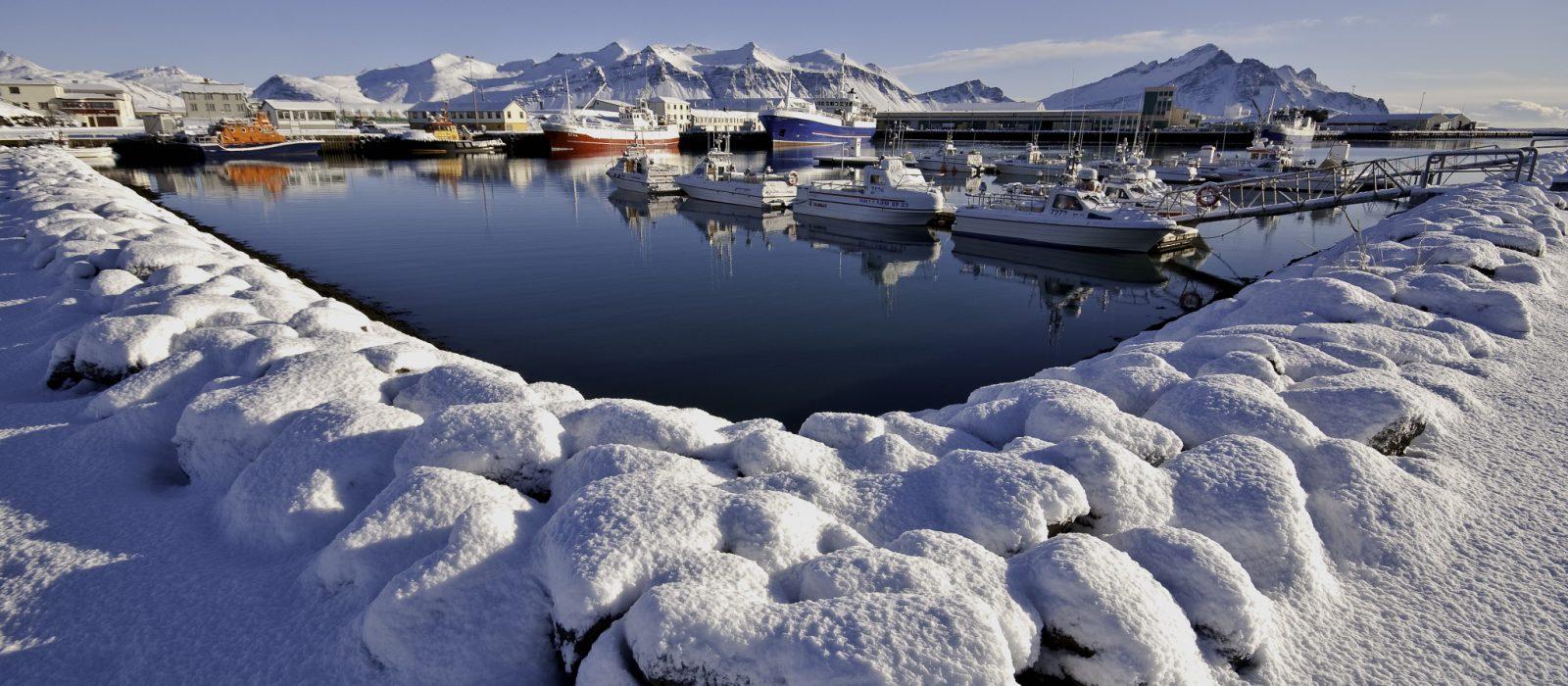 Snjo Hofn mars -Visit Vatnajokull