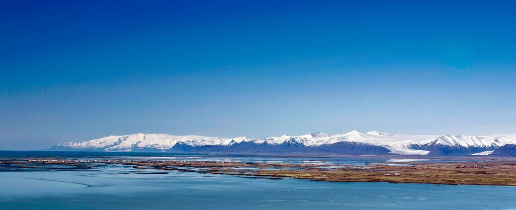 hofn over view - visit vatnajokull