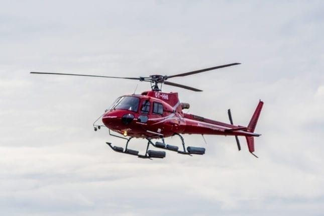 Helicopter tour Scenic Skaftafell